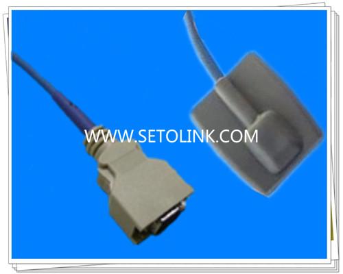 Dolphin 14 Pin Pediatric Silicone Soft Tip SpO2 Sensor