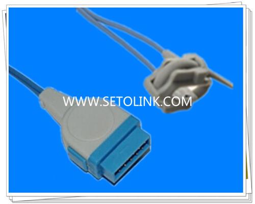 GE Marquette 11 Pin Neonate Silicone Wrap SpO2 Sensor Nellcor Tech