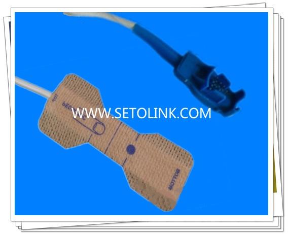 Datex Ohmeda 8 Pin Disposable SpO2 Sensor