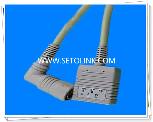 Colin BP88 6 Pin ECG Trunk Cable
