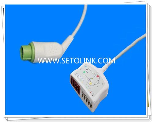 Fukuda Denshi 12 Pin ECG Trunk Cable