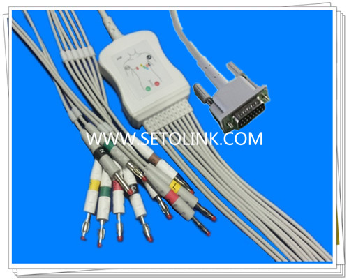 Philips One Piece ECG Cable 10 Leadwires