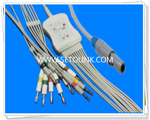 Welch Allyn One Piece ECG Cable 10 Leadwires