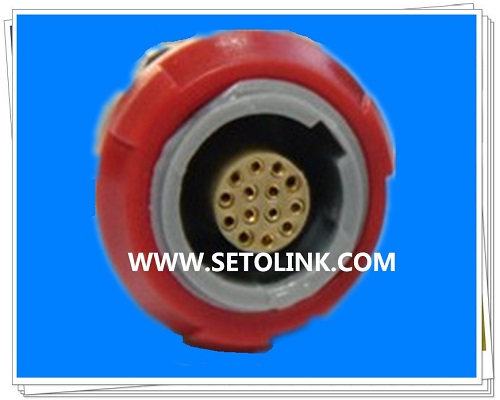 14 Pin Circular Plastic Female Connector