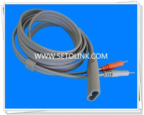 2 Pin Male Hairdressing Medical Cable